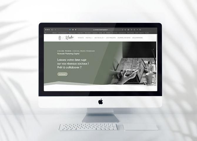 création-site-web-vitrine-wordpress-community-manager